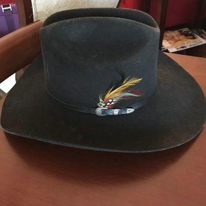 Other - Black Felt Men's Cowboy Hat